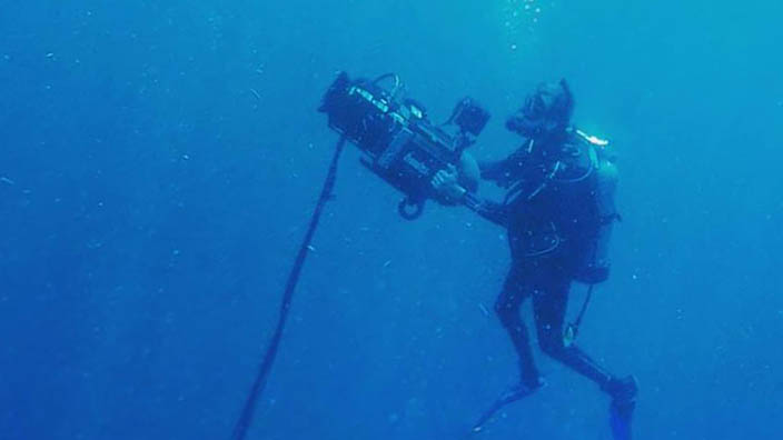 Learn about the exciting underwater film project recently completed by Ocean Sentinel Productions